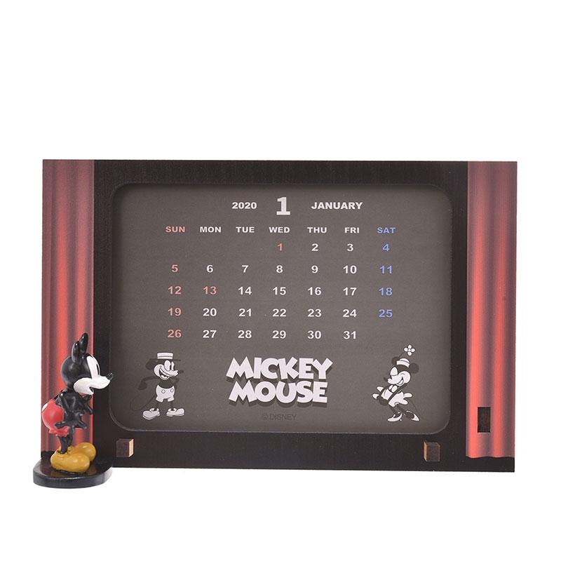 ミッキー&フレンズ 卓上カレンダー 2020 シアター