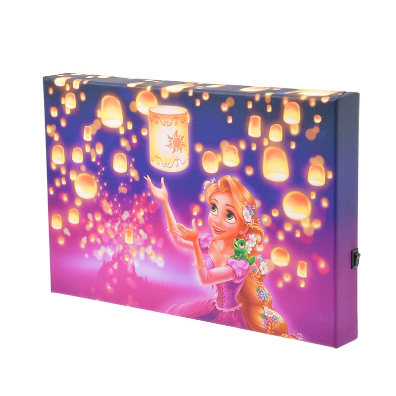 ラプンツェル&パスカル LED アートボード Lantern Night