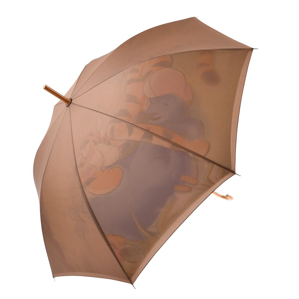 プー&フレンズ 傘 ジャンプ式 Rainy Day 2020