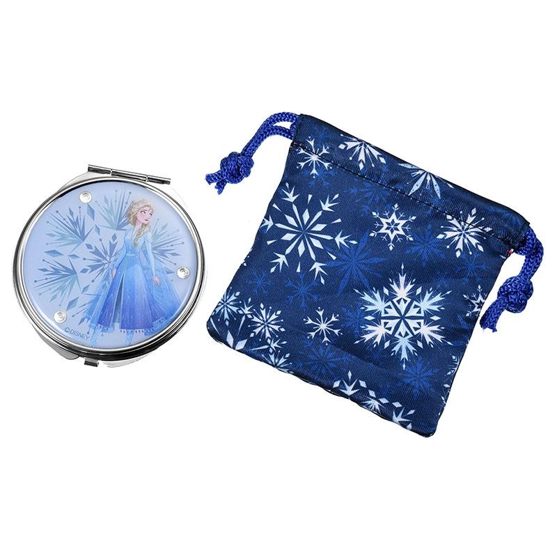 エルサ ハンドミラー・手鏡 巾着付き アナと雪の女王2