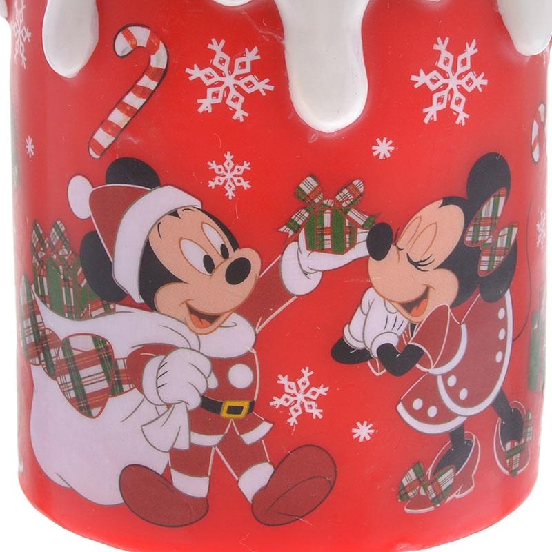 ミッキー&ミニー LEDライト キャンドル Disney Christmas