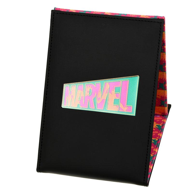 マーベル アイアンマン、キャプテン・アメリカ 鏡・ミラー 折りたたみ式 ロゴ Vivid