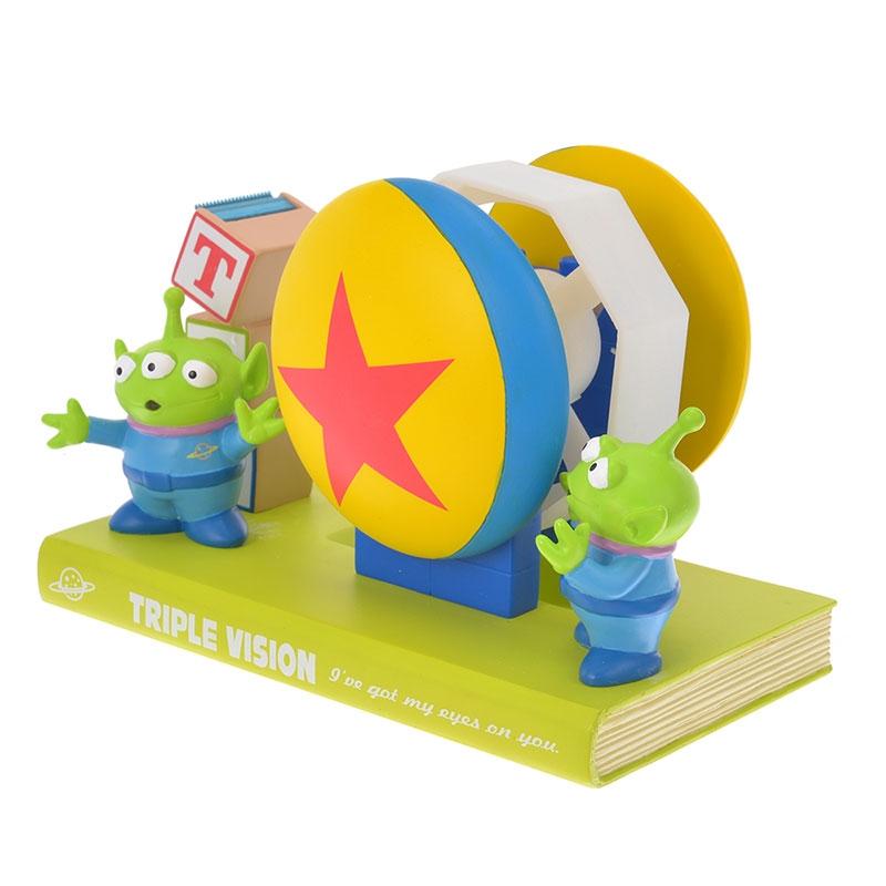 リトル・グリーン・メン/エイリアン テープディスペンサー アルファベットブロック