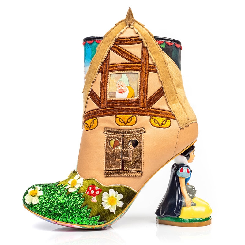 【Irregular Choice】白雪姫、7人のこびと レディース用ブーツ(23) Happily Ever After