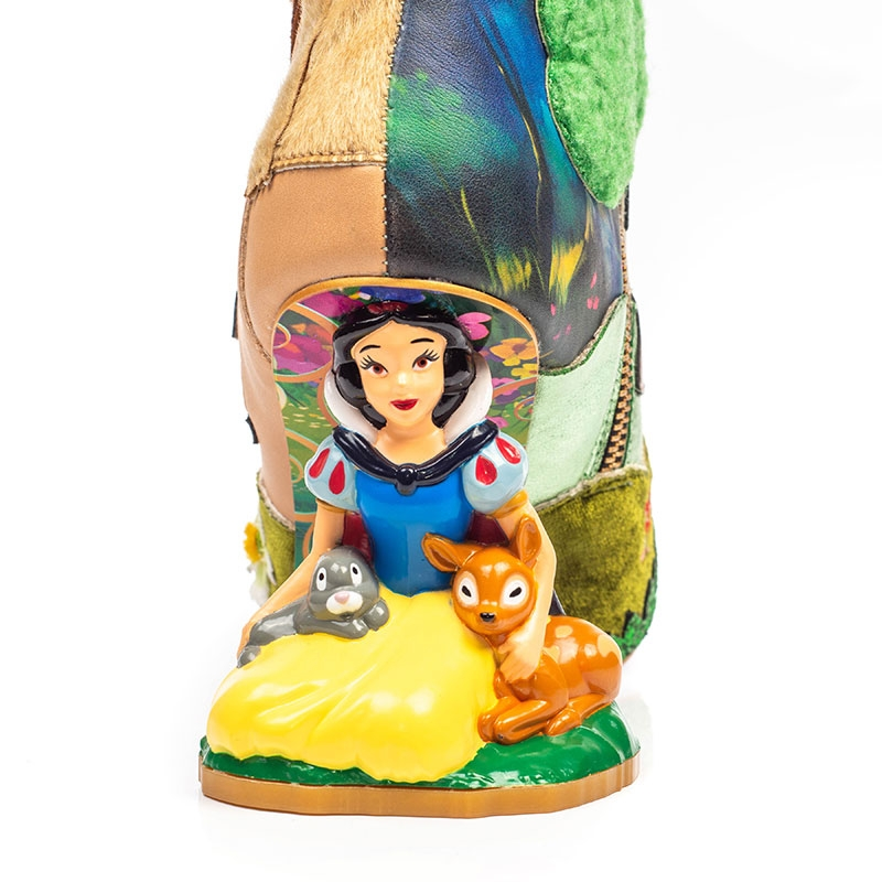 【Irregular Choice】白雪姫、7人のこびと レディース用ブーツ(23.5) Happily Ever After