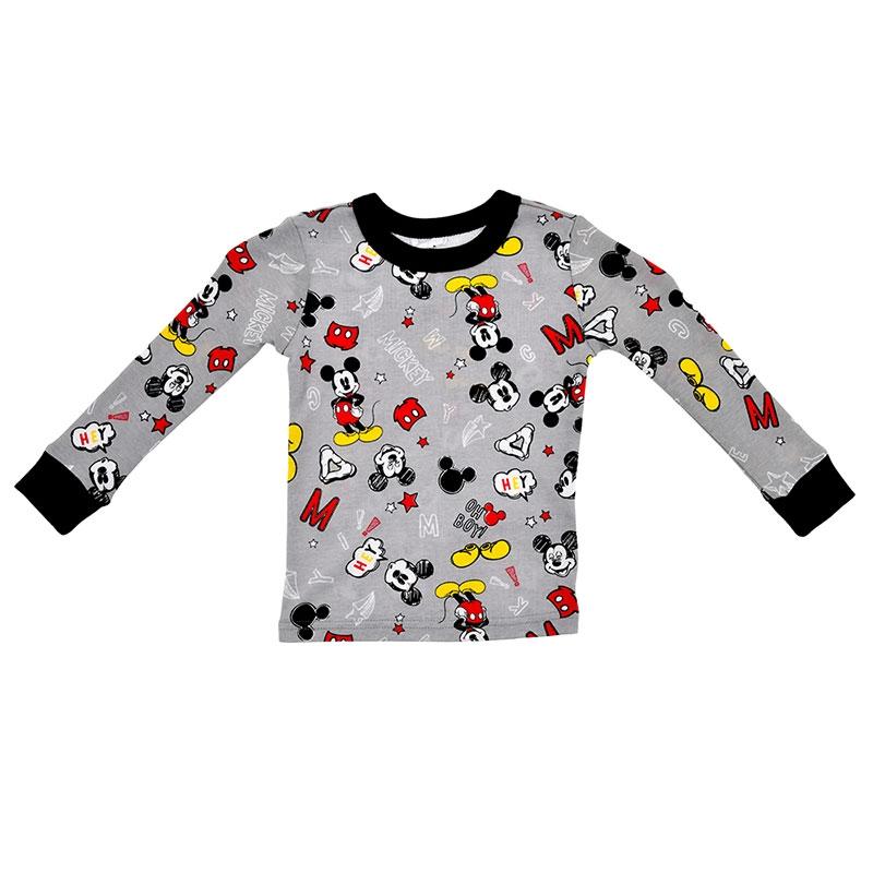 ミッキー キッズ用長袖パジャマ(100) フリーハンド