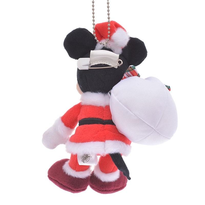 ミッキー ぬいぐるみキーホルダー・キーチェーン Disney Christmas