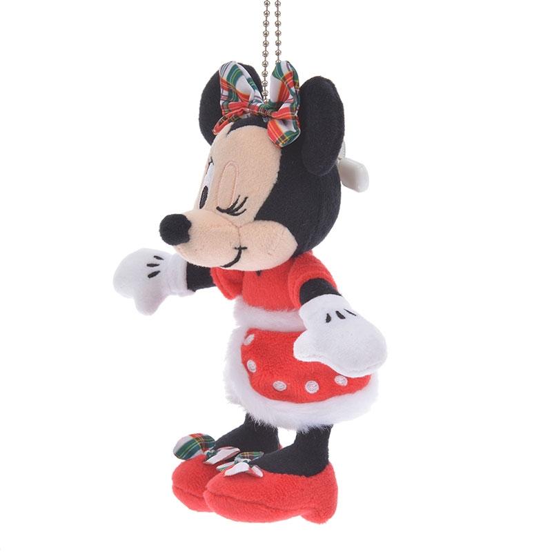 ミニー ぬいぐるみキーホルダー・キーチェーン Disney Christmas