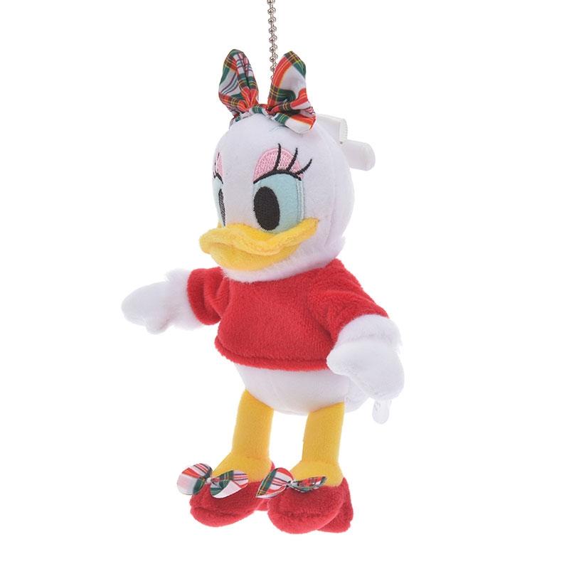 デイジー ぬいぐるみキーホルダー・キーチェーン Disney Christmas
