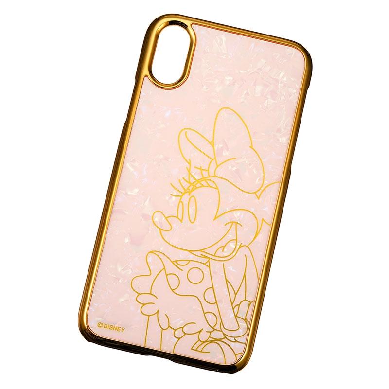 ミニー iPhone X/XS用スマホケース・カバー シェル風