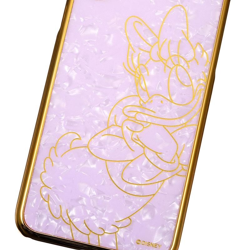 デイジー iPhone X/XS用スマホケース・カバー シェル風