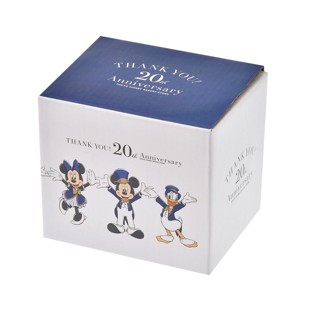 ミッキー&フレンズ マグカップ TOKYO DISNEY RESORT STORE 20th Anniversary