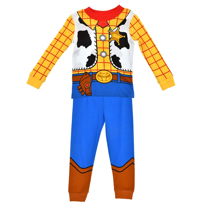 ウッディ キッズ用長袖パジャマ(110) カウボーイ