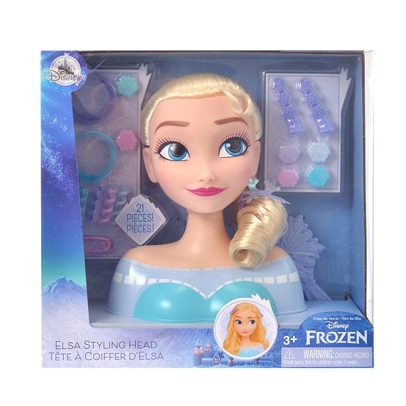 エルサ おもちゃ スタイリングヘッド