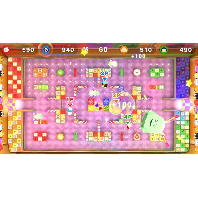 【Nintendo Switch(TM)】ディズニー ツムツム フェスティバル ソフト&ぬいぐるみ4体セット