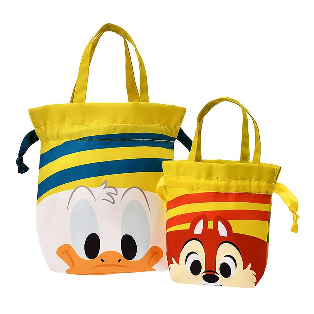 ドナルド、チップ&デール ポーチ 巾着 Donald Duck Birthday 2020