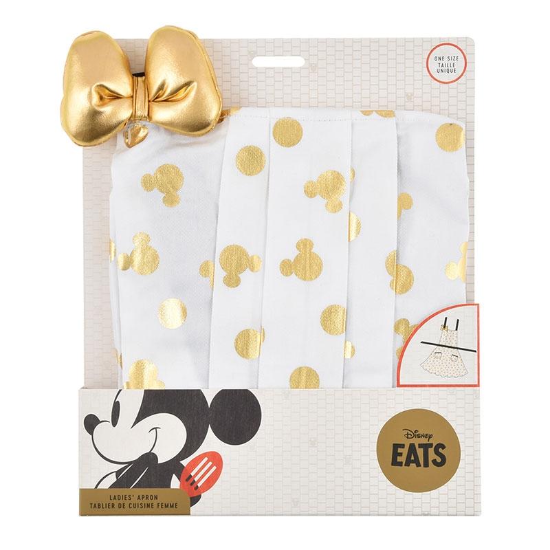 ミニー エプロン ゴールド Disney Eats