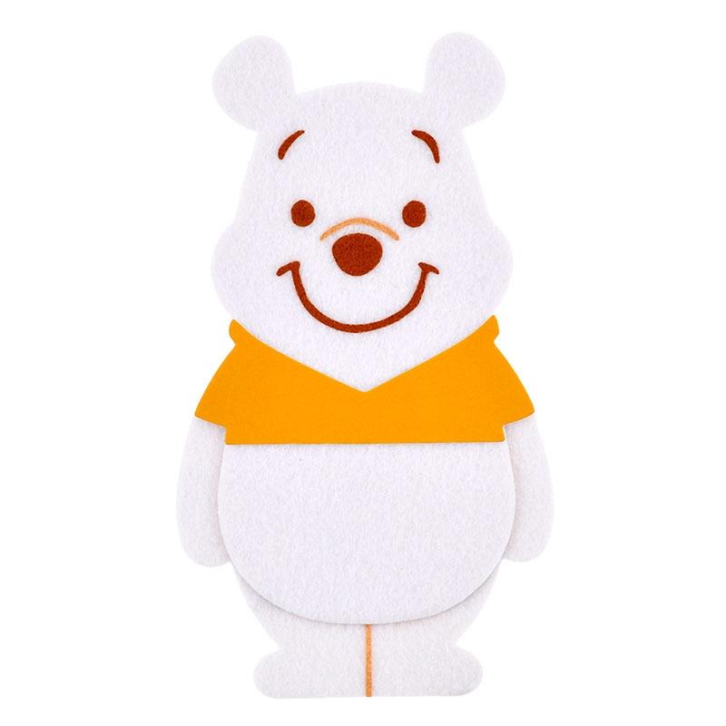 プーさん ぽち袋 White Pooh ゴールド