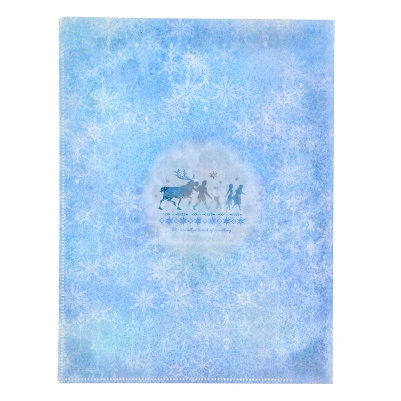 アナ&エルサ クリアファイル Winter Spark