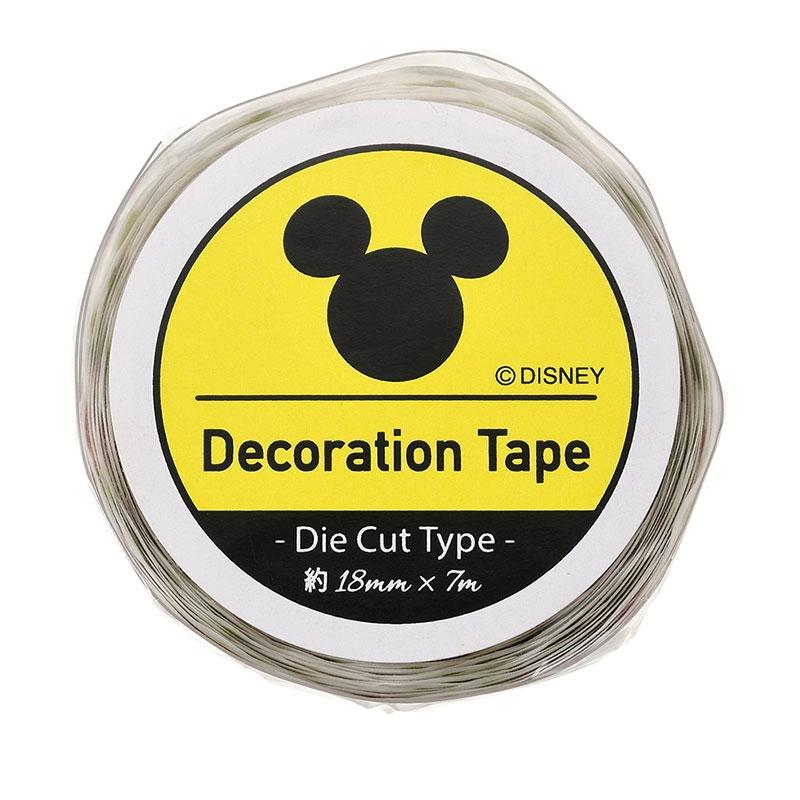 ミッキー&フレンズ デコレーションテープ ダイカット だるま