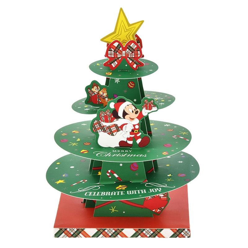 ミッキー&フレンズ メッセージカード クリスマス ライトアップ