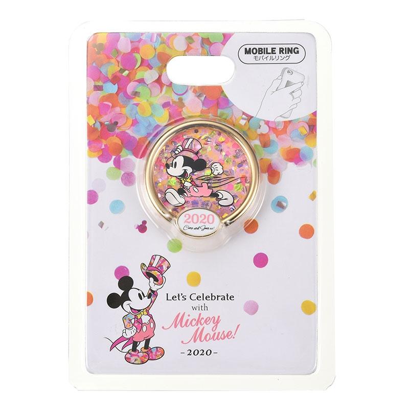 ミッキー スマートフォンリング Let's Celebrate with Mickey Mouse 2020