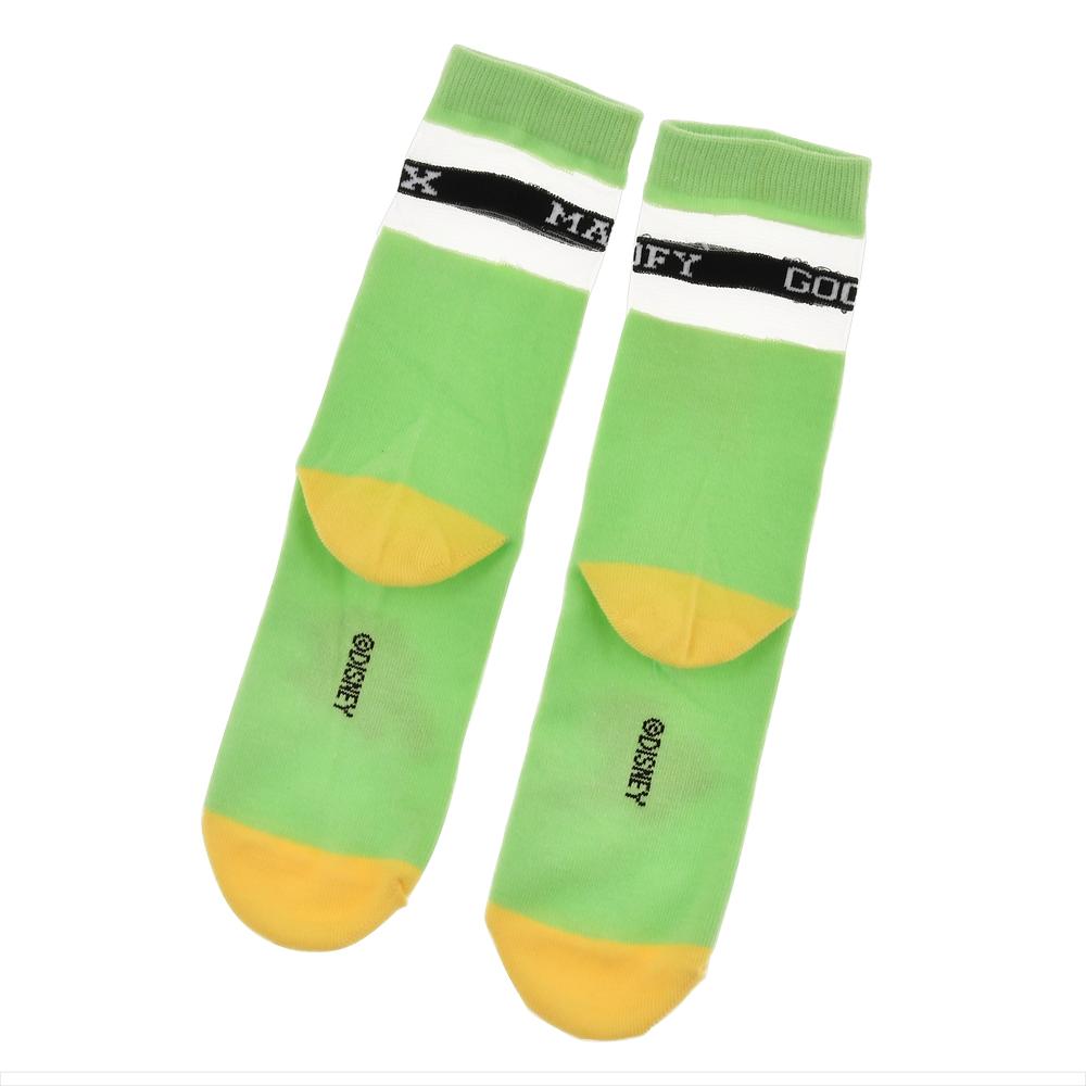 グーフィー&マックス 靴下 シースルー ネームロゴ