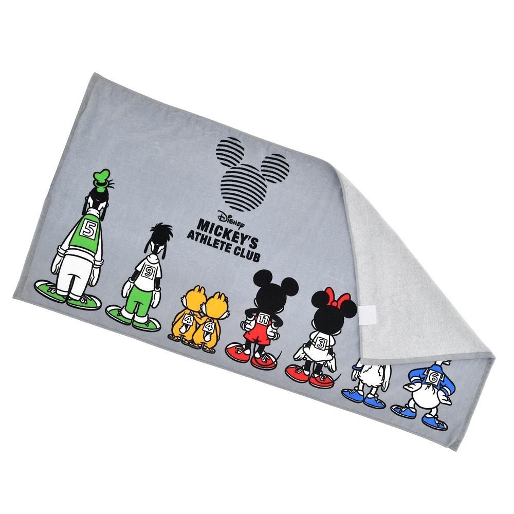 ミッキー&フレンズ バスタオル Mickeys Athlete Club