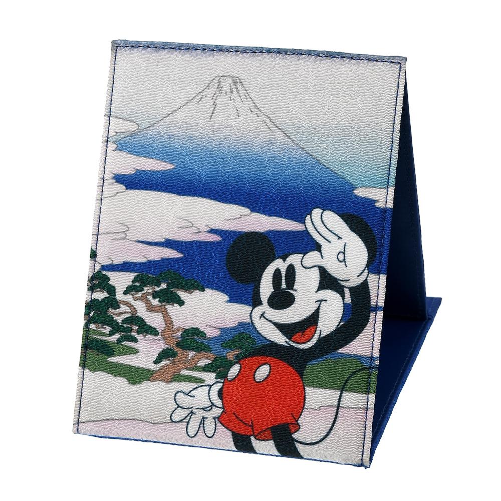 【アウトレット】ミッキー ミラー・鏡 折りたたみ式 Ukiyoe Japan