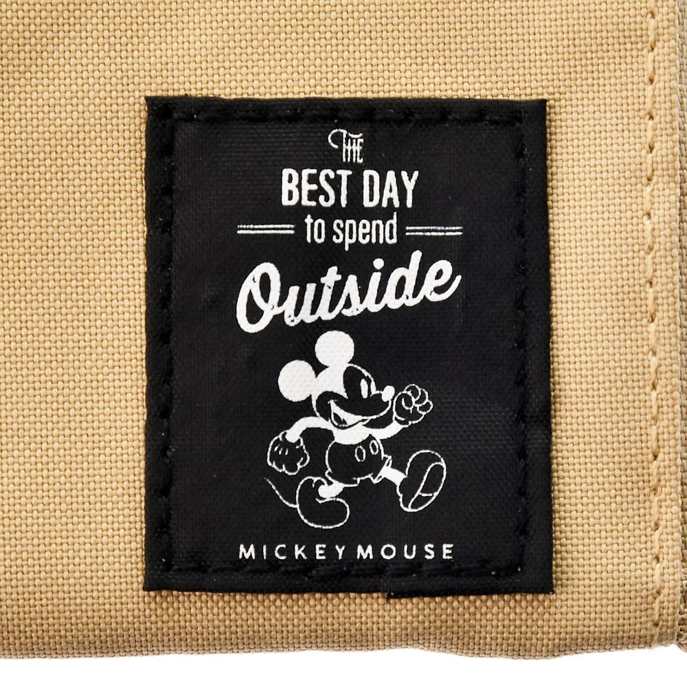 ミッキー 財布・ウォレット カラビナ付き Disney Outdoor 2020