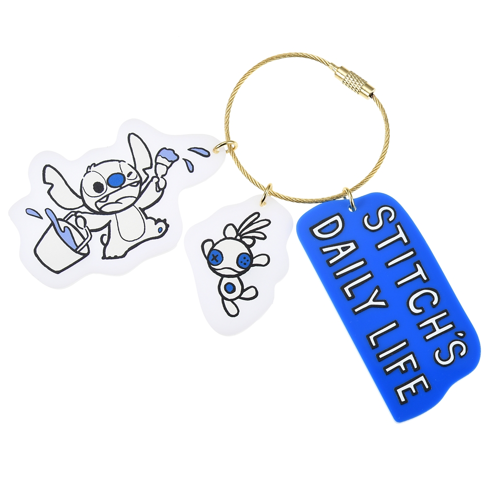 スティッチ&スクランプ キーホルダー・キーチェーン Stitch Day 2020