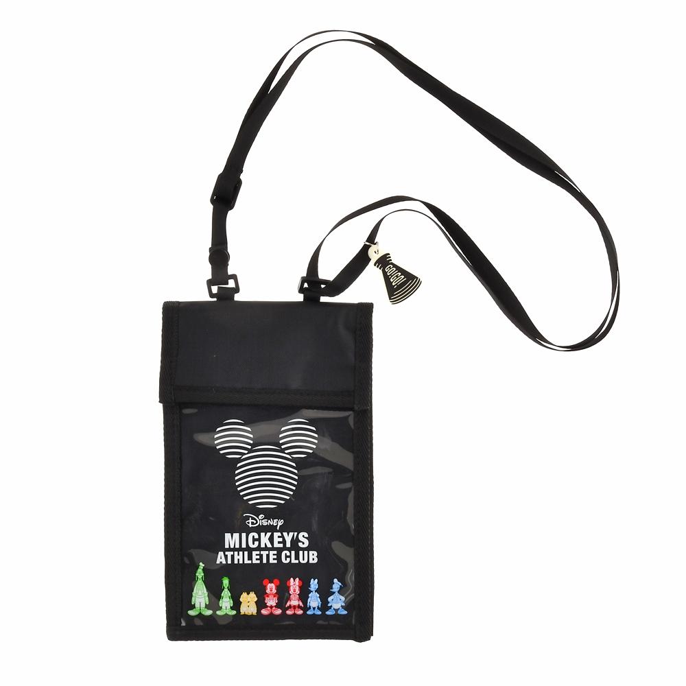 ミッキー&フレンズ チケットホルダー Mickeys Athlete Club