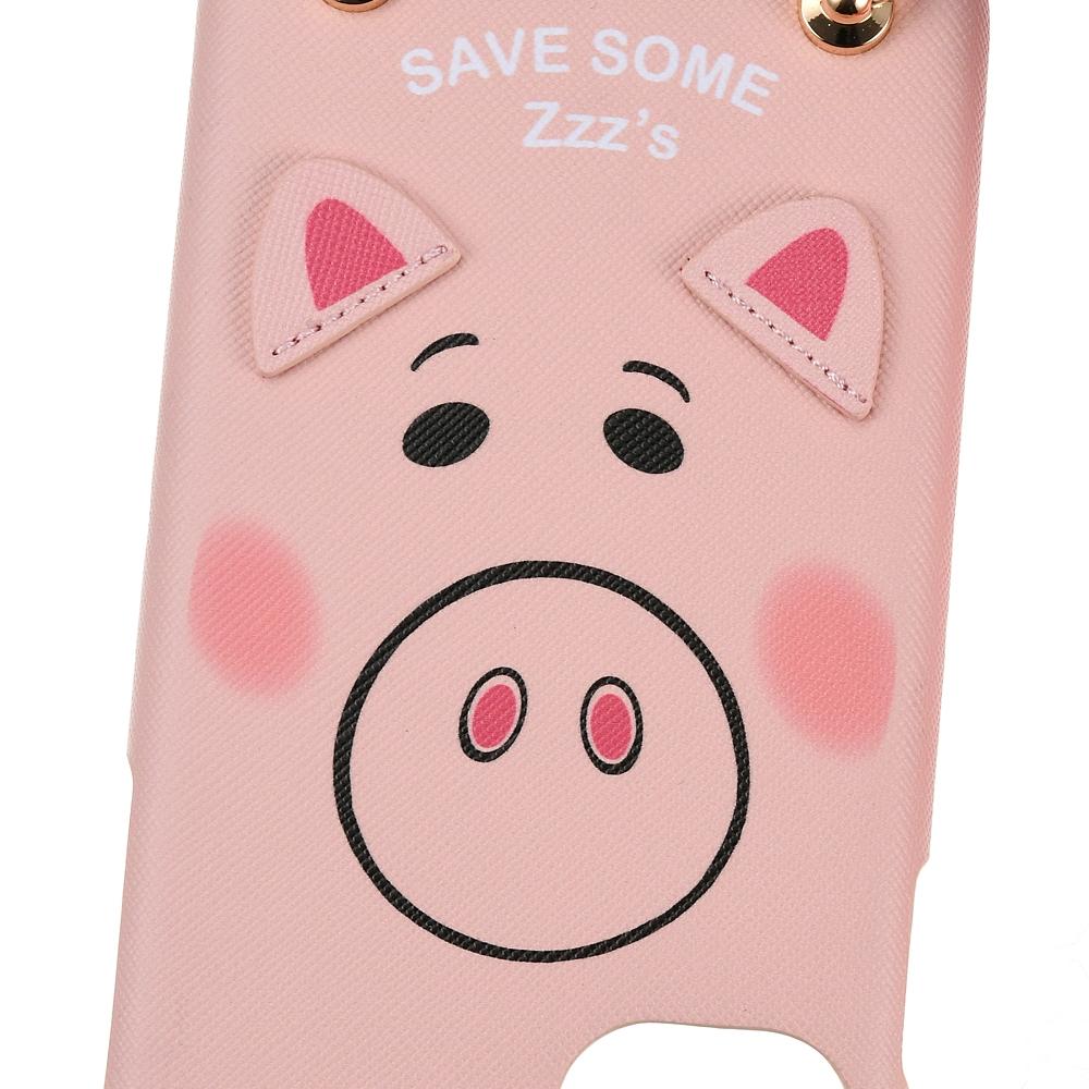 ハム iPhone 11用スマホケース・カバー ストラップ付き フェイス