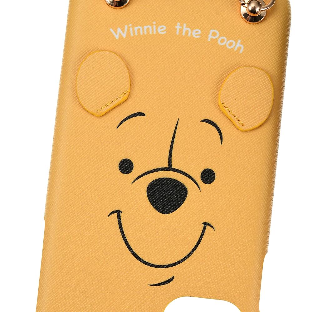 プーさん iPhone 11用スマホケース・カバー ストラップ付き フェイス