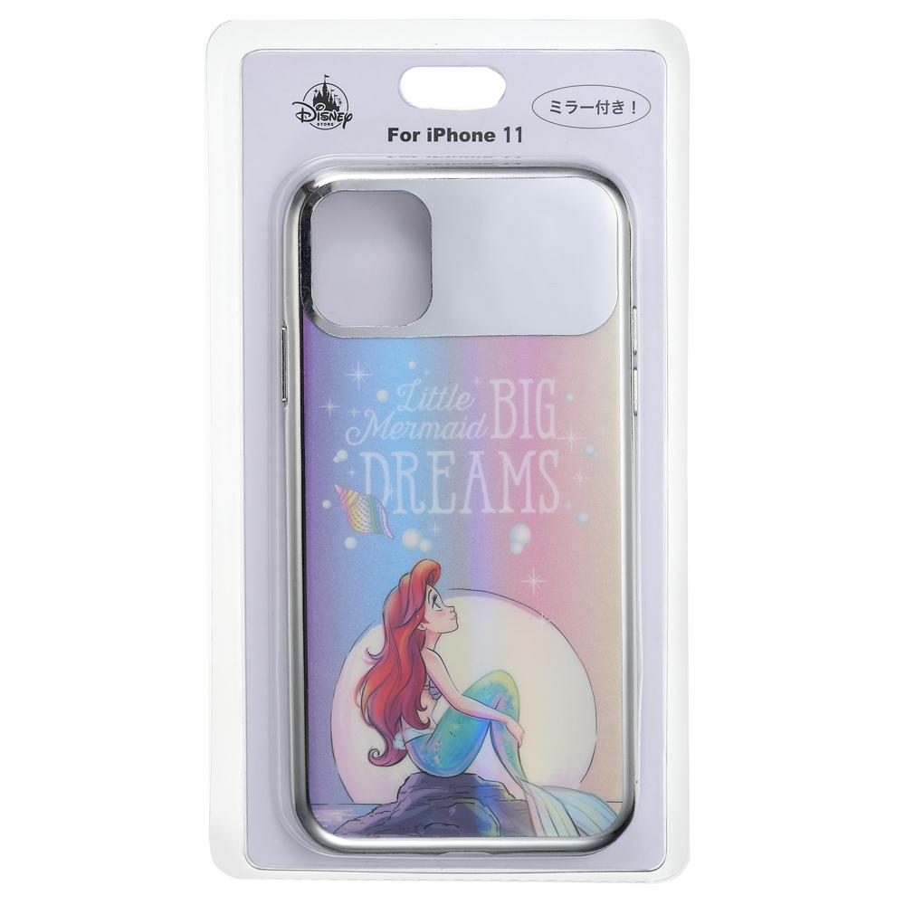 アリエル iPhone 11用スマホケース・カバー ミラー SEA