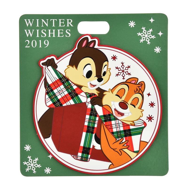 チップ&デール コースター Disney Christmas