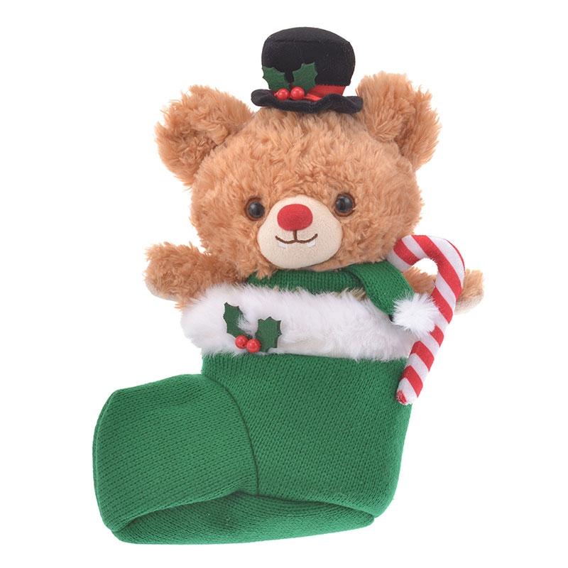 ユニベアシティ ぬいぐるみ専用コスチューム クリスマス ニット 靴下 ボーイ