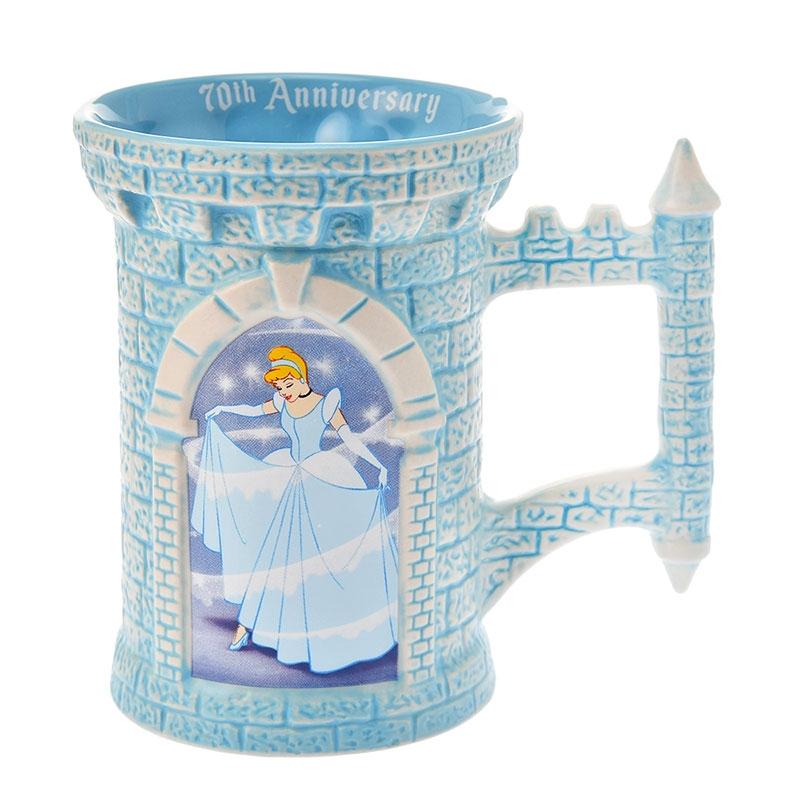 シンデレラ&王子 マグカップ Cinderella 70th