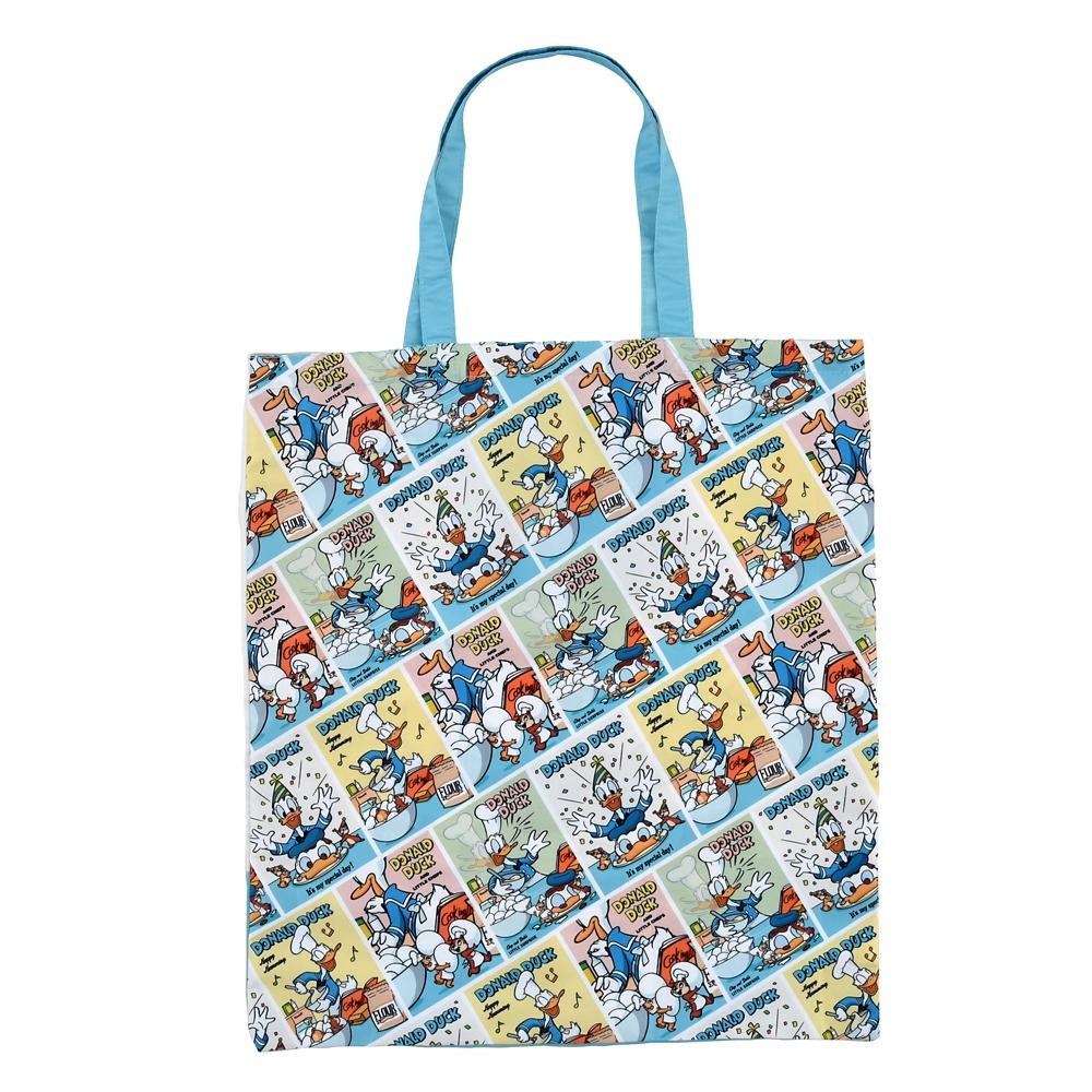 ドナルド、チップ&デール ショッピングバッグ・エコバッグ Donald Duck Birthday 2020
