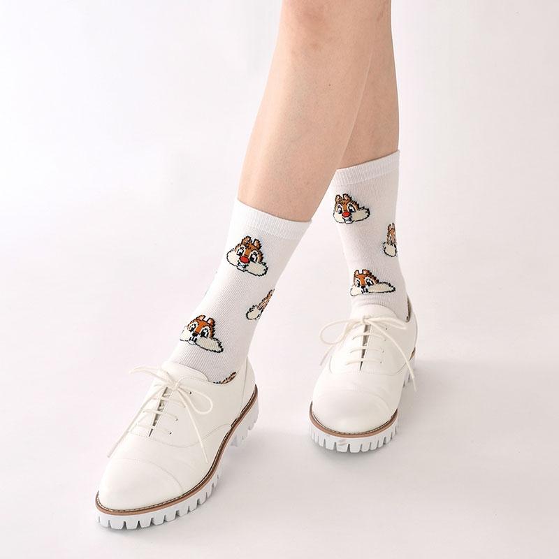 チップ&デール 靴下 フェイス