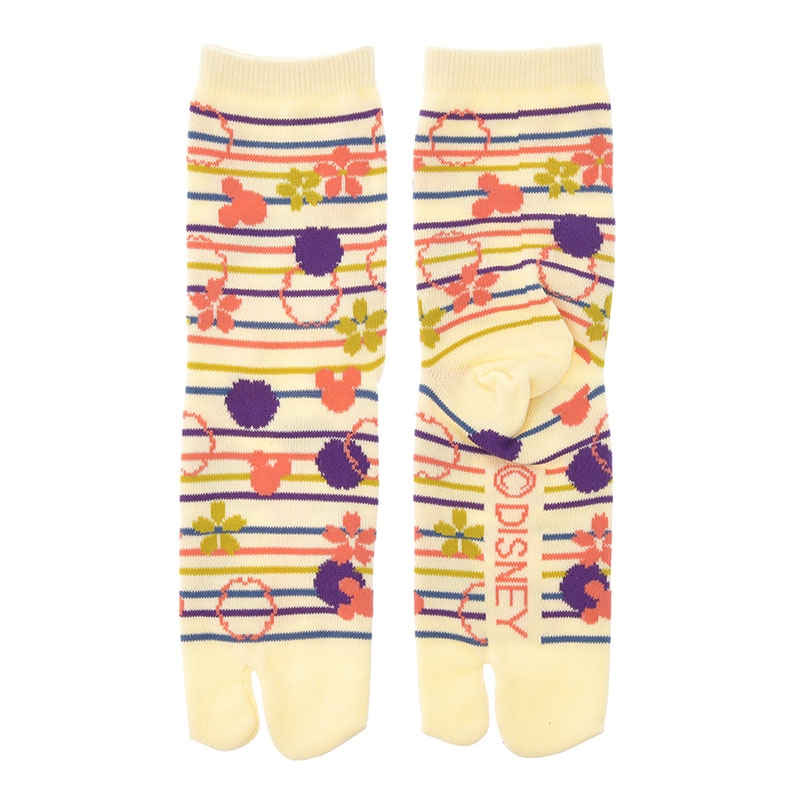 ミッキー 靴下 足袋 和柄