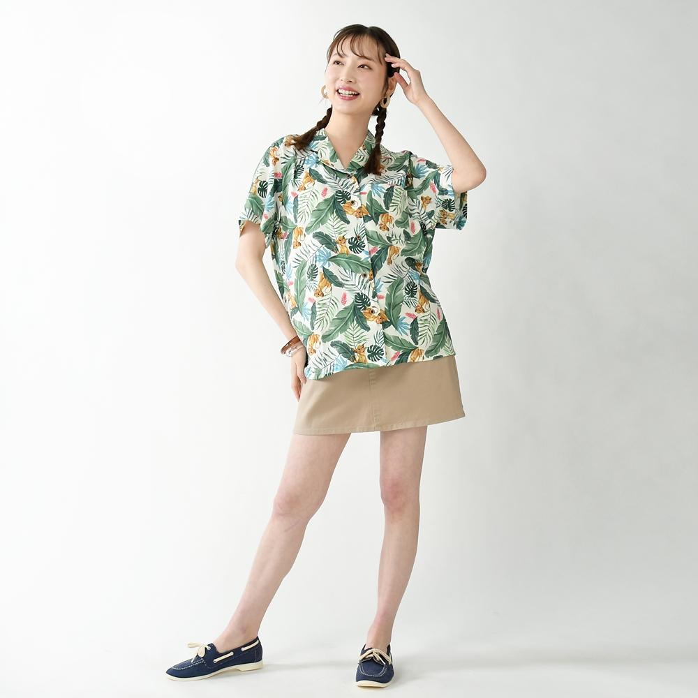 シンバ 半袖シャツ アロハ風 Tee&Aloha