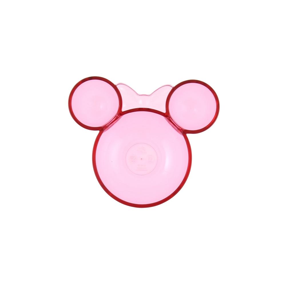 ミニー ボウル(S) ピンク アクリル アイコン型