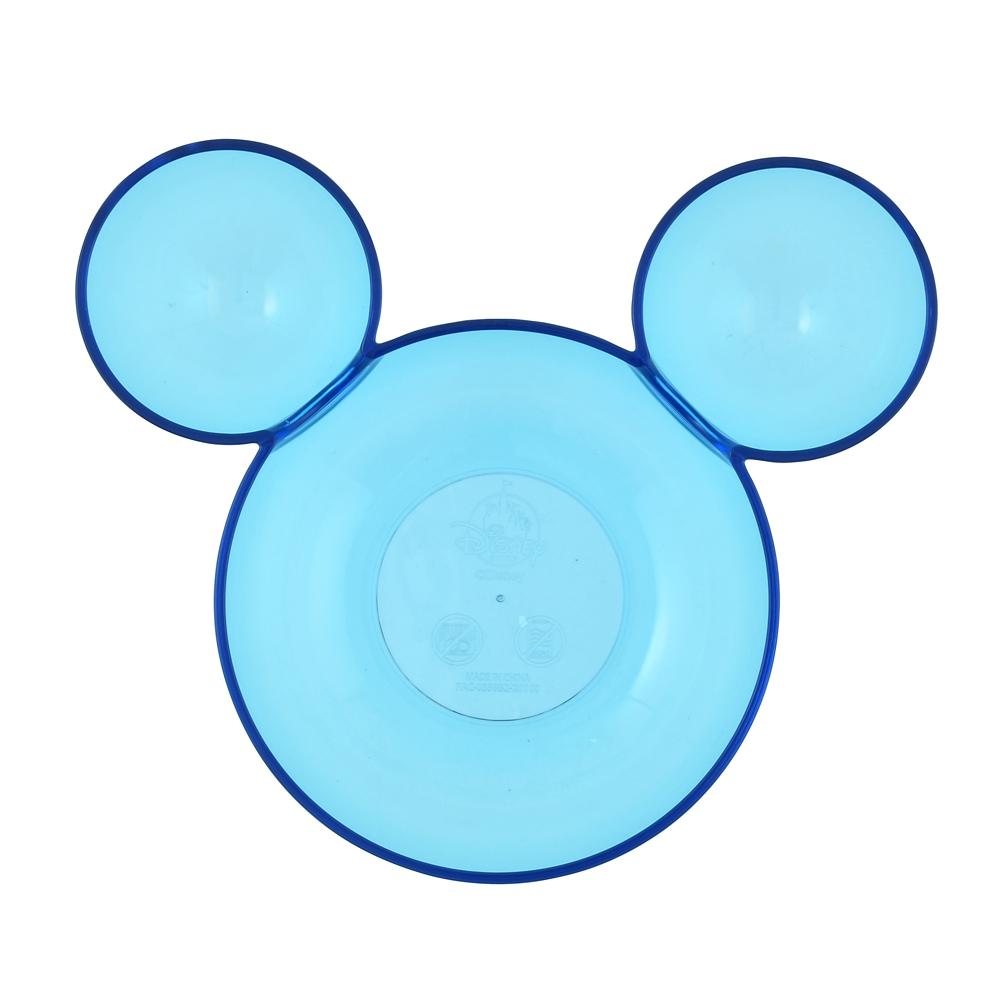 ミッキー ボウル(L) ブルー アクリル アイコン型