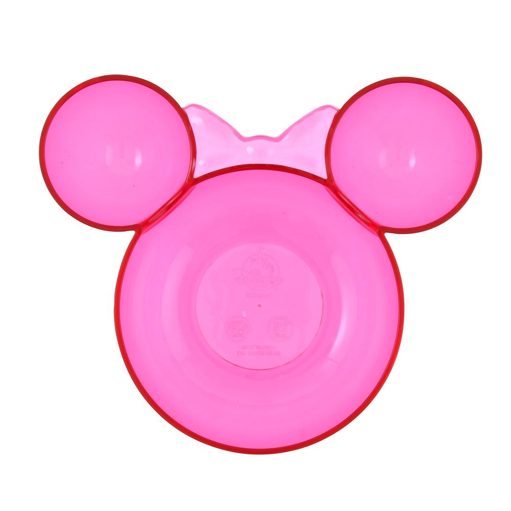 ミニー ボウル(L) ピンク アクリル アイコン型