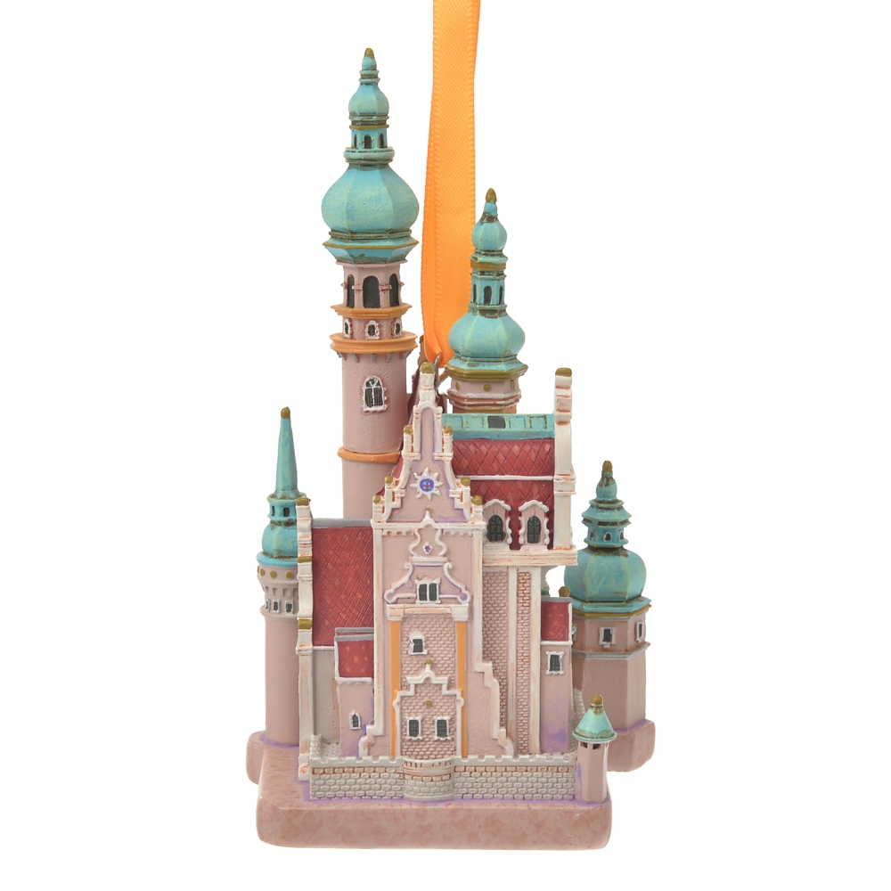 塔の上のラプンツェル オーナメント 城 Disney Castle Collection