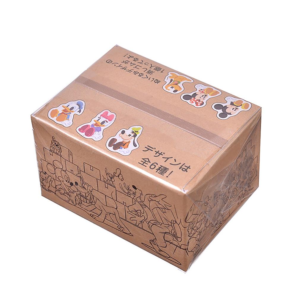 ミッキー&フレンズ シークレット消しゴム 配送BOX