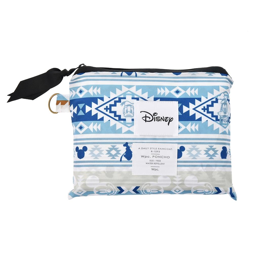 【Wpc.】ミッキー&フレンズ ポンチョ ポーチ付き Disney Outdoor 2020