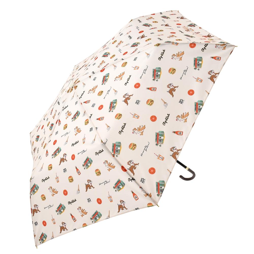 【Wpc.】チップ&デール 傘 折りたたみ式 サマーホリデー Rainy Day 2020