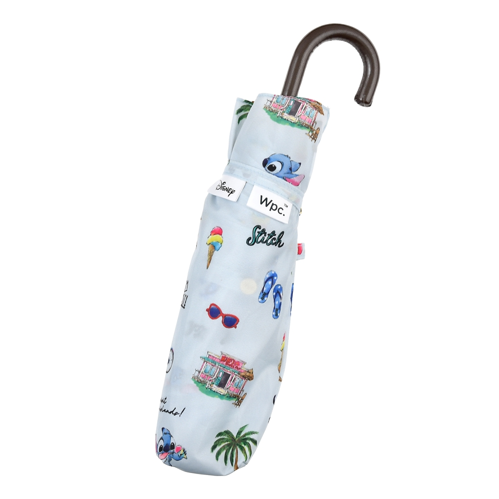 【Wpc.】スティッチ 傘 折りたたみ式 サマーホリデー Rainy Day 2020